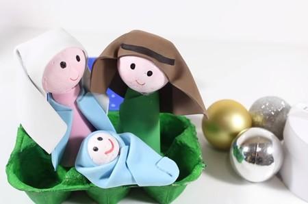 Manualidades De Navidad 11 Ideas Para Hacer Un Portal De Belén Diy Utilizando Elementos Reciclados