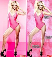 "Britney Spears le dice ""No"" al photoshop"