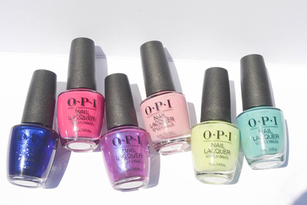 Probamos la colección Tokyo de OPI, 6 tonos muy vibrantes y chispeantes para el verano