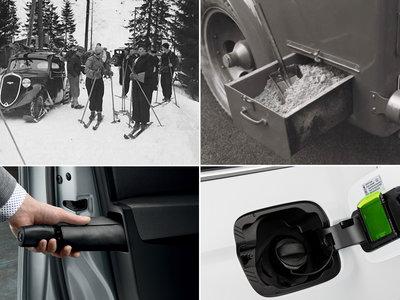 Las prácticas soluciones Škoda Simply Clever se remontan a los comienzos de la compañía