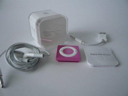 iPod shuffle unboxing