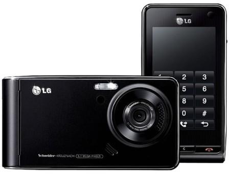 LG Viewty permite la grabación de vídeo en DivX