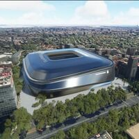 Las obras del Santiago Bernabéu no han terminado, pero podemos ver desde Microsoft Flight Simulator el nuevo estadio del Real Madrid