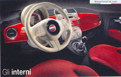 Fiat 500 Scooped