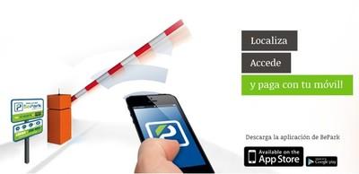 BePark, buscar y pagar aparcamientos públicos con el teléfono