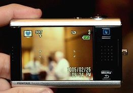 Pentax Optio T10, su pantalla táctil a prueba