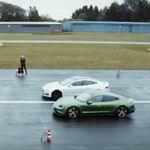 ¡Llegó el cara a cara! El Porsche Taycan aplasta a un Tesla Model S en la primera carrera entre los dos coches eléctricos