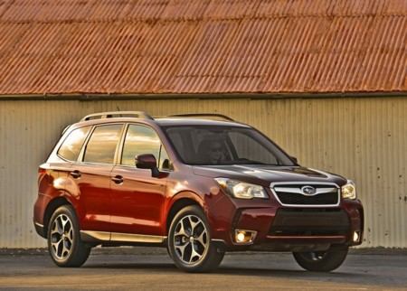 Subaru Forester Us Version 2014 1024x768 Wallpaper 07