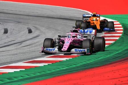 Perez Norris Austria F1 2020