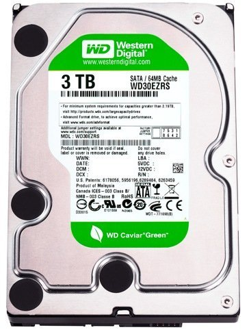 Western Digital Caviar Green 3 TB HDD