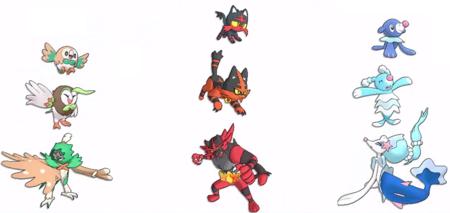 Pokemon Sol Luna Iniciales Finales