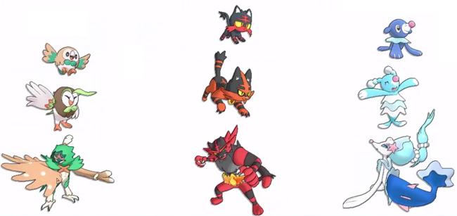 Noticia - Se filtran todos los Pokémon de Sol y Luna a través de su ...