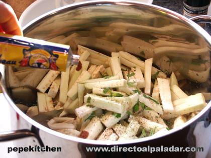 ensalada berenjenas paso