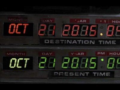 Y por fin llegó el día en que Marty McFly apareció en nuestro presente