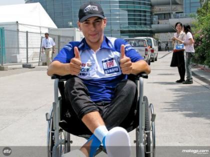 Malas noticias en la lesión de Jorge Lorenzo