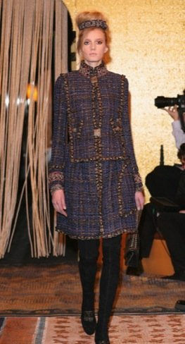 Chanel Pre-Fall 2011 tweed