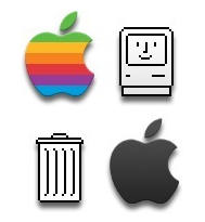 Garnish: Decora tu Dashboard con iconos sobre Apple del presente y del pasado