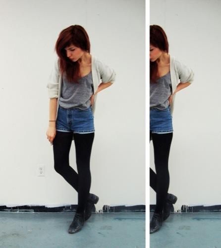 El tejido vaquero dominará la próxima Primavera-Verano 2010: looks de calle. Shorts