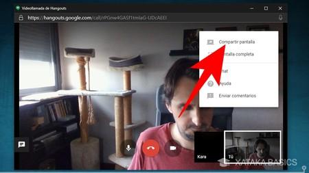 Compartir Hangouts