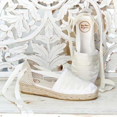 La primera colección de alpargatas para novias de Toni Pons es así de ideal