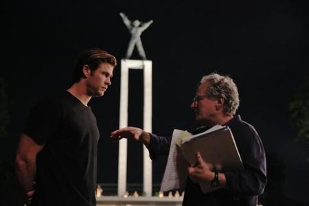 Mann y Hemsworth durante el rodaje de Blackhat