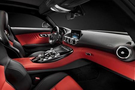 Así es el interior del Mercedes-AMG GT