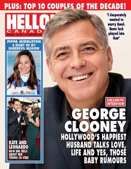 George Clooney desmintiendo crisis parejiles