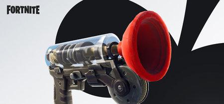 Así funciona el Lanzaventosas, el nuevo objeto que llega a Fortnite