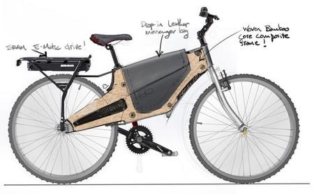 Bamboost, bambú para aligerar las bicicletas eléctricas