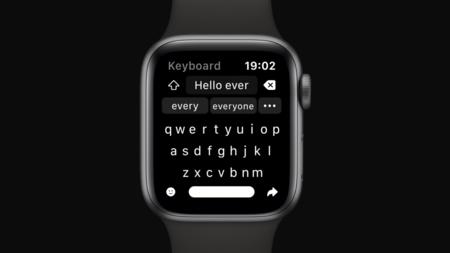 Shift Keyboard presenta una nueva forma de escribir mensajes en Apple Watch