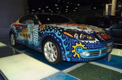 Hyundai Coupe Art Car