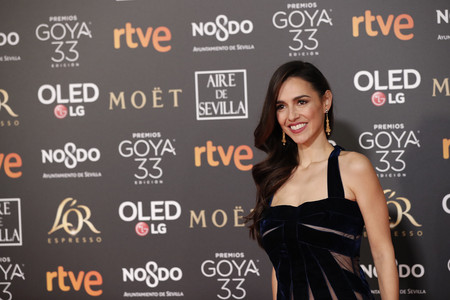 Premios Goya 2019: las transparencias más elegantes las luce Cristina Brondo