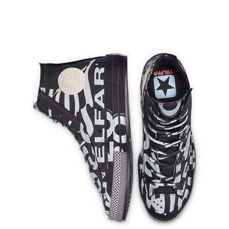 Las Zapatillas De Converse X Telfar Vistas En La Pasarela De Edicion Limitada Estan De Rebajas