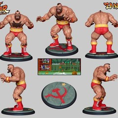 Foto 3 de 8 de la galería street-fighter-the-miniatures-game en Vida Extra