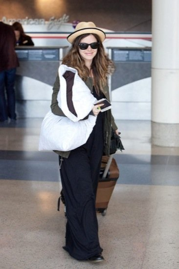 Rachel Bilson aeropuerto