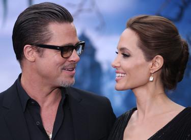 Angelina Jolie, ¿la dama de negro o la dama de blanco? Mejor Elle Fanning