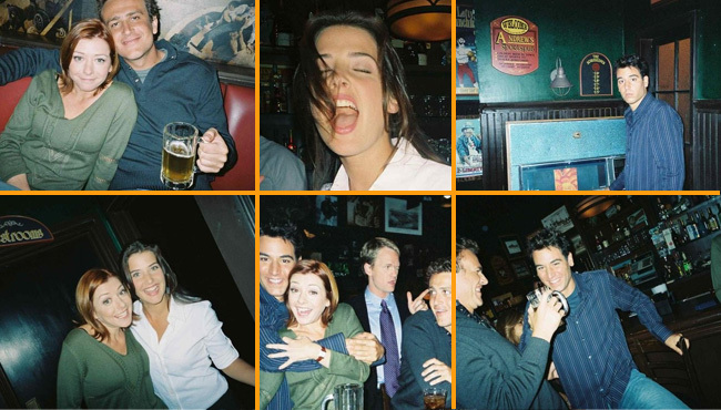 Las fotos reales de 'How I met your mother'