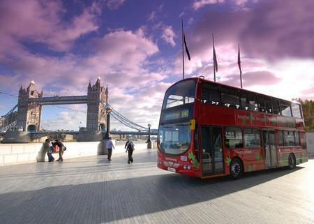 Autobús híbrido de Londres