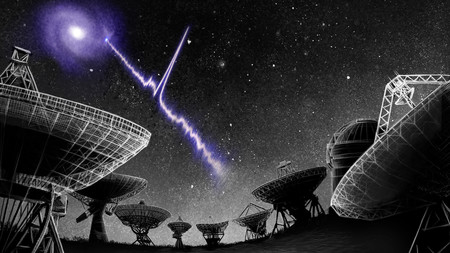 Astrónomos detectan un extraño patrón de señales de radio localizado a unos 500 millones de años luz de origen desconocido