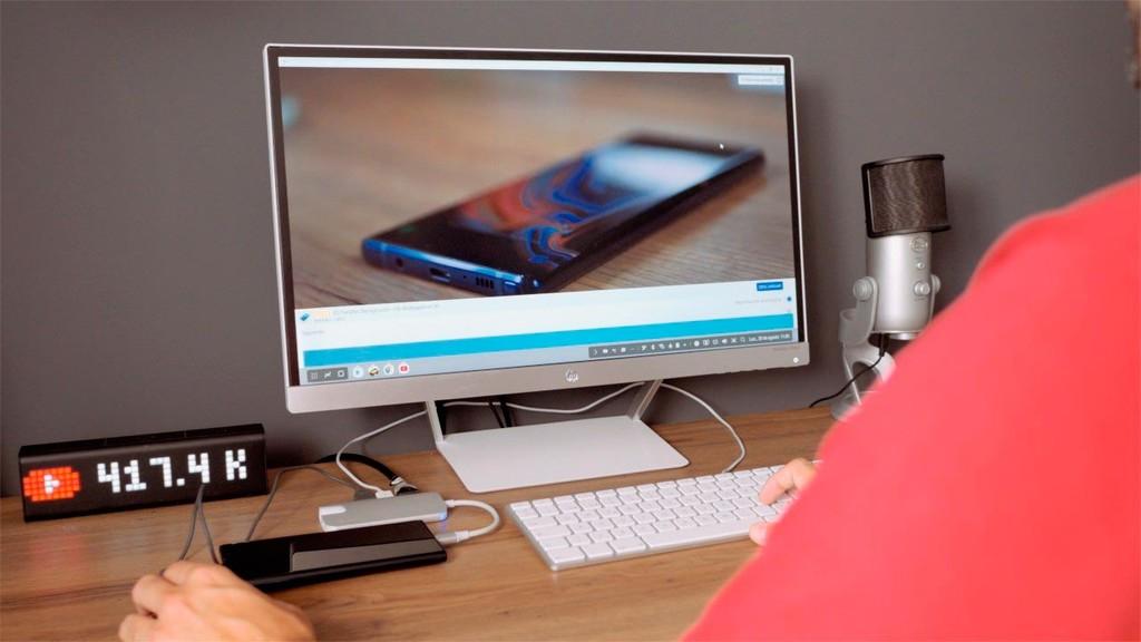 Samsung potenciará el metodo de escritorio de sus móviles incluyendo DeX carente cables