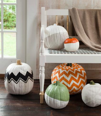 Hazlo tú mismo: pinta calabazas para Halloween