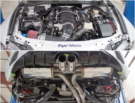 ¿Qué tal un Mazda MX-5 con motor Chevrolet LS3 V8?