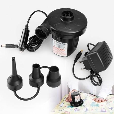Oferta flash Amazon: Bomba de aire eléctrica rebajada a 10,19 euros ¡Puedes inflar todo rápidamente!