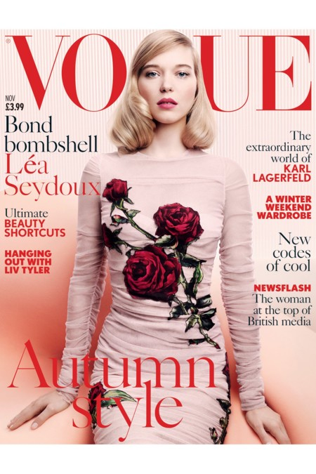 Vogue UK: Lea Seydoux