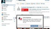 Facebook modifica las alertas de sus juegos para que sean menos intrusivas