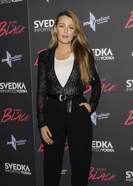 blake lively premiere paint it black