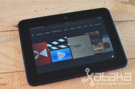 Kindle Fire HD análisis carrusel de aplicaciones y eventos