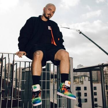 Nike y J.Balvin colaboran para hacer del Air Jordan 1 el más colorido sneaker del año