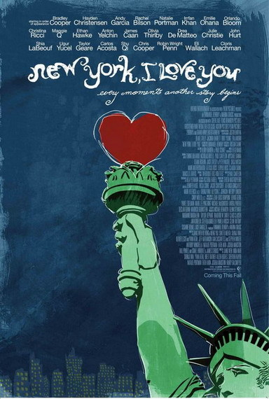 'New York, I Love You', cartel