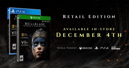 Hellblade Xbox One Ps4 Fisico